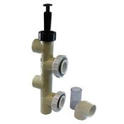 "Push-Pull Backwash Valve(Sand/D.E.)Pvc-Slip, 2"", Pentair(263064)"