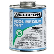 PVC Cement-Clear (QT) Weld-On, IPS (744 / 13555)