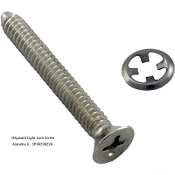 Light, Face Rim, Lock Screw, Astrolite II,  Hayward (SPX0590Z2A)
