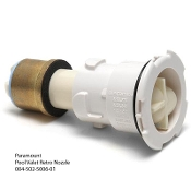 Pool Valet Retro Nozzle-2 hole (White)Paramount(004-502-5004-01)