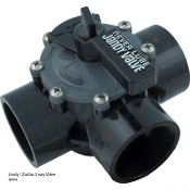"Jandy Valve-3 Way (2""/2.5"")NeverLube CPVC (4944)"