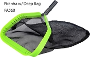 Piranha Leaf Net complete w/ Deep bag, Smart Company (PA-560)