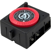 Timer, Intermatic, SPST, Panel Mount (115v/24hr)PF/RC (PB913N66)